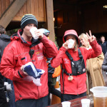 Event Crew finishing off the beer... :)
