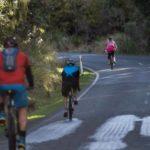 Bike stage of Peak to Keg