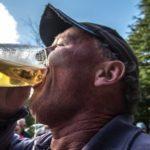 Beer skull at Peak to Powderkeg